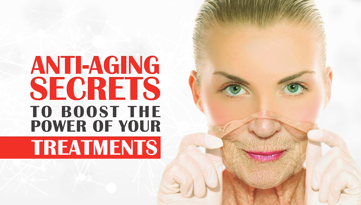 anti-aging secrets woman young